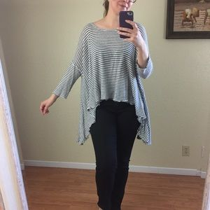 Free People oversized loose top ONE SIZE